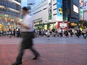Shibuya Crossing. Le plus celebre passage pieton (japonais?) au monde.
